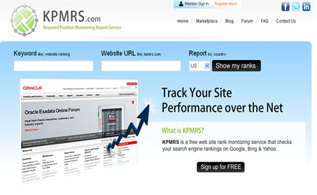 Website Ranking Software (KPMRS) - Galaxy Weblinks Products