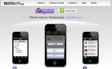 RESTOAPP - iPhone App Builder for Restaurants - Galaxy Weblinks Products