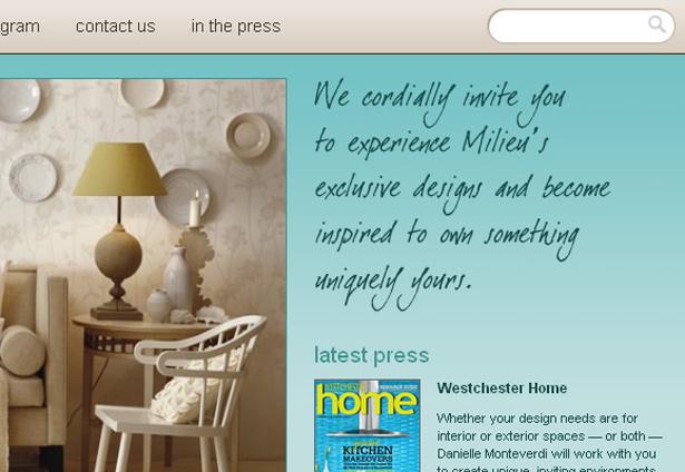 . Milieu Home Goods   Online Furniture ecommerce store
