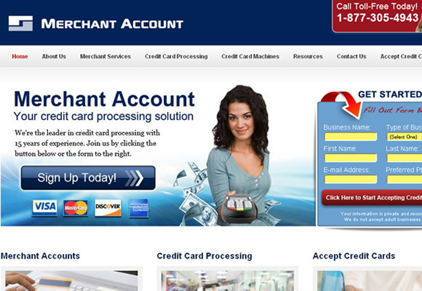 Merchant Account - Portfolio Image - Galaxy Weblinks