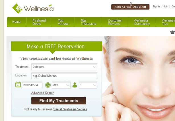 Wellnesia - Portfolio Image - Galaxy Weblinks