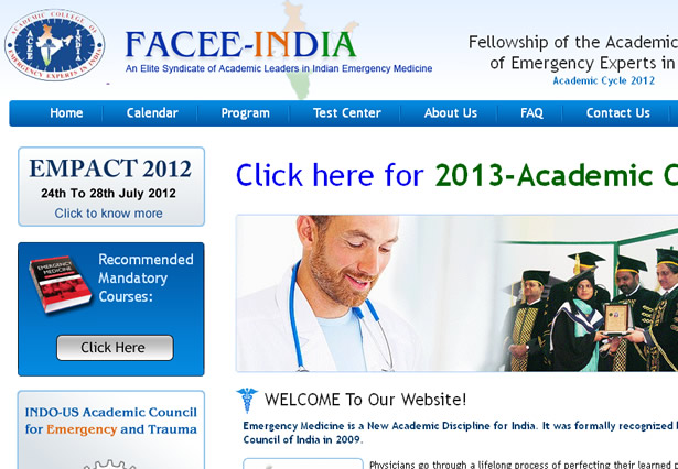 Facee India - Portfolio Image - Galaxy Weblinks